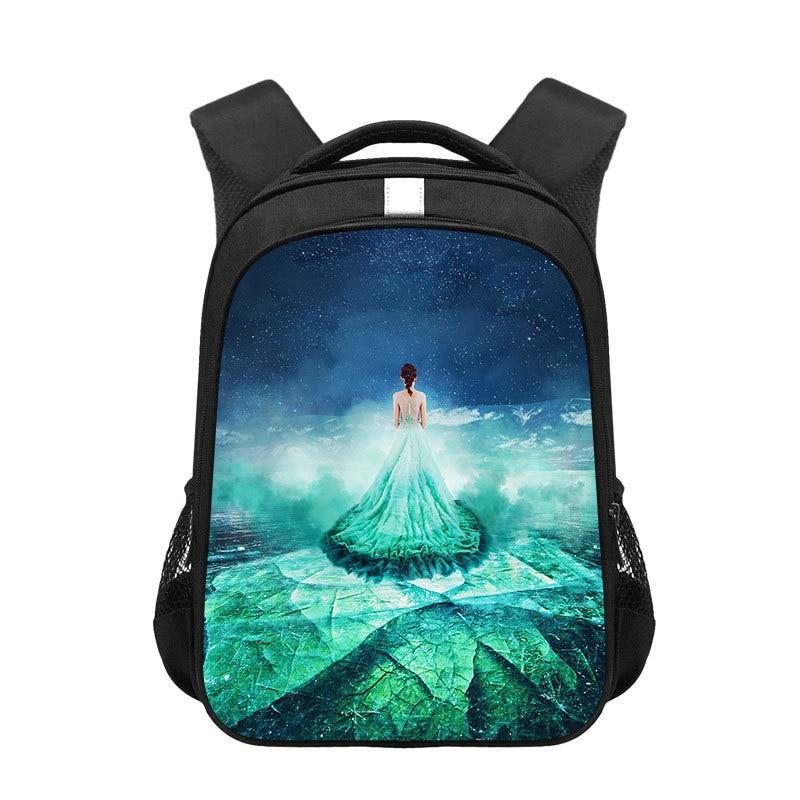 Novos sacos de escola mochila meninas fantasia baikal meninas adolescentes meninas beleza mochilas crianças mochilas mochila