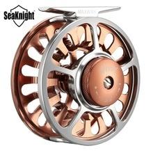 SeaKnight HONOR Fly Fishing Reel Machined Aluminum Full Metal Fishing Wheel Saltwater Freshwater Fishing 3/4 5/6 7/8 9/10