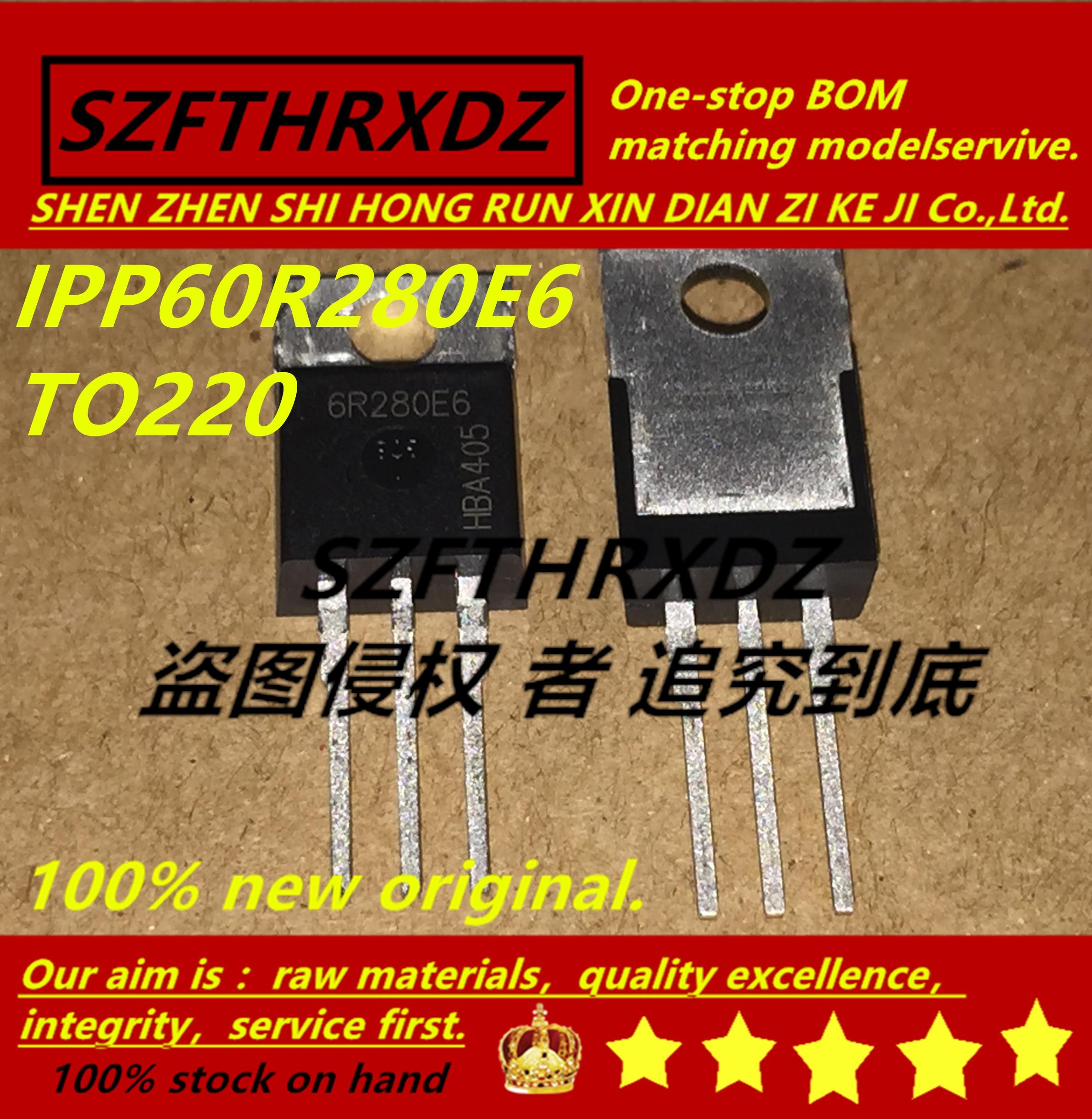 SZFTHRXDZ 100% nuevo original (10 uds) 16CTQ100PBF 16CTQ100 IPP60R280E6 6R280E6 IRL3103PBF IRL3103 DSA20C45PB TO220
