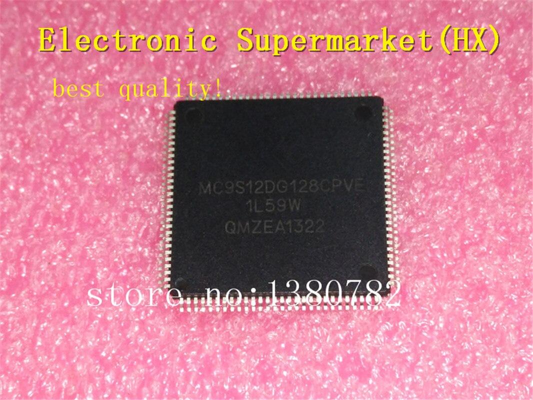 100% Nova original 5 unidades/lotes MC9S12DG128CPV MC9S12DG128 MC9S12 TQFP-112 IC Em estoque!