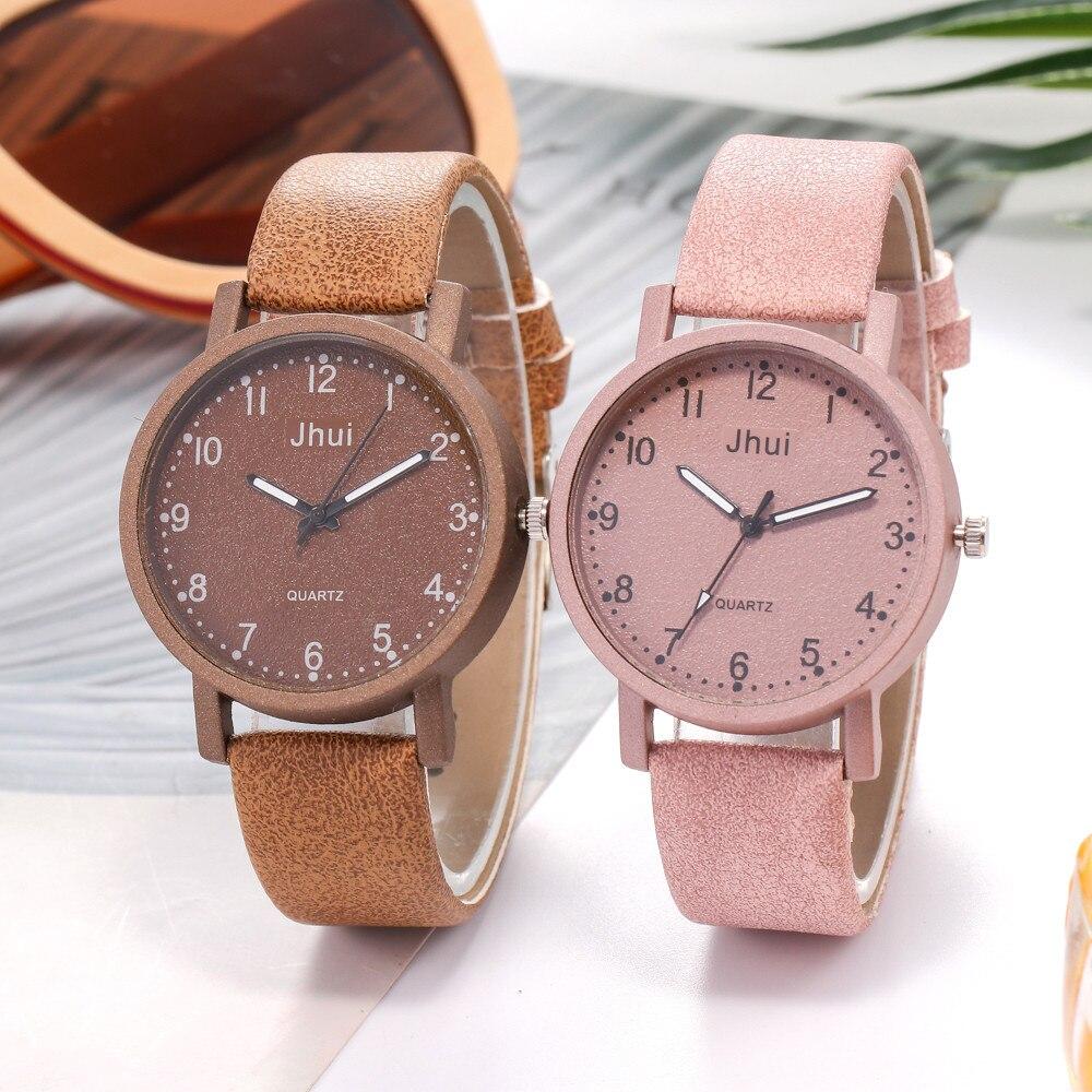 Kol tutaj relógio feminino pulseira de couro, relógio analógico feminino quartz 03 *