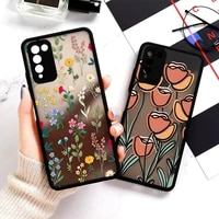 hard covers for huawei honor 8x case cute fundas honor 20 lite hry lx1t 30 10x lite 30s 9a matte painted case leopard anti knock