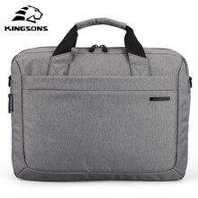 Kingsons su geçirmez erkek kadın çanta çapraz vücut çanta rahat kılıf 12.1,13.3,14.1,15.6, 17.3 inç dizüstü evrak çantası askılı çanta