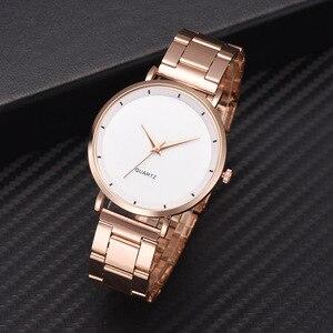 Women Watch Fashion Rose Gold Bracelet Watches Simple Stainless Steel Ladies Watch Women Clock Relogio Feminino Zegarek Damski