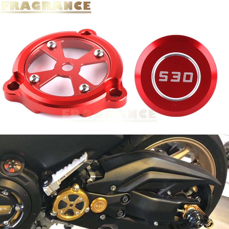 Motorcycle Refit Decorative Body Plug Frame Hole Cover Front Drive Shaft Cover Guard Protector For Y
