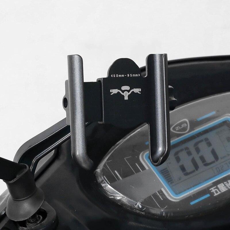 Новый стиль алюминиевый сплав 360 du вращающийся мобильный телефон подставка для велосипеда E-Bike навигация езда Универсальный мобильный теле...