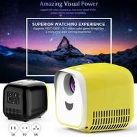 Mini projecteur Portable LED pour Home cinema  affichage HD 1080P  Interface USB HDMI carte TF  dq-drop