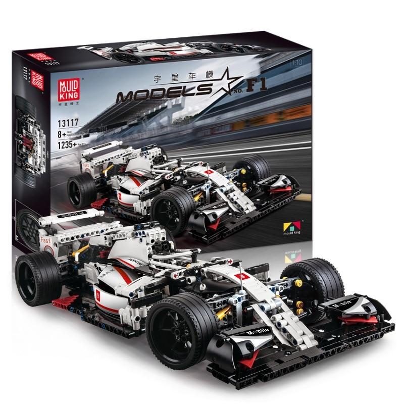 New City Technic The F1 Racing Rally Car Buidling Blocks Speed Champions Sport Car Model Kit Bricks Kids Boys Toys Gifts