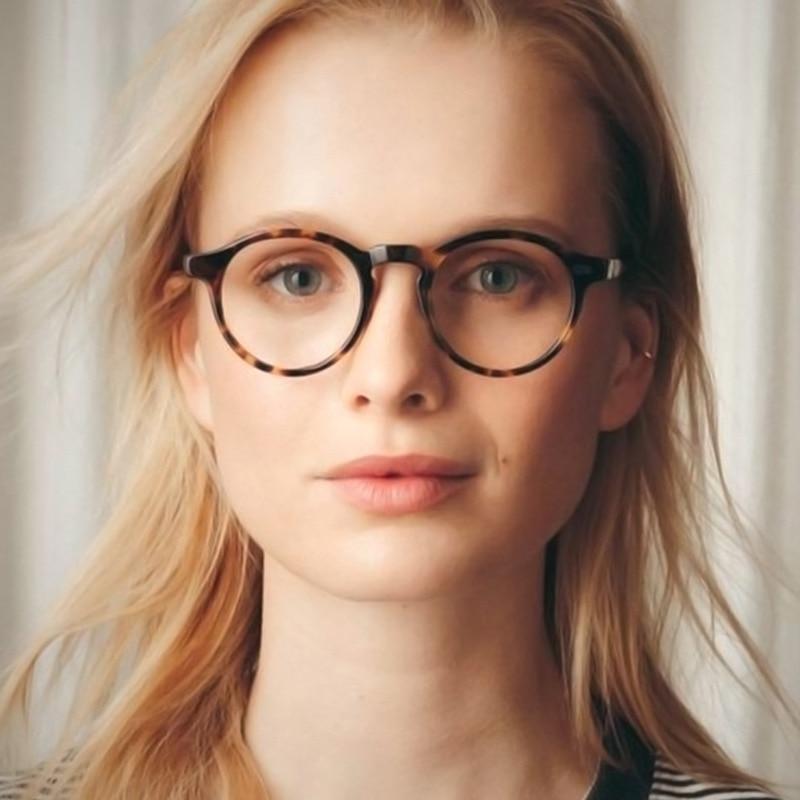 Маленькие круглые винтажные очки с блокировкой сисветильник, очки для компьютера, оптические очки, оправа для очков, женские и мужские очки,...