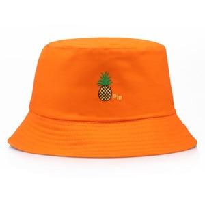 Hat Fruit Pineapple Fisherman Hat Leisure Travel Visor  Bob  Hats for Women Fashion Women's Hat  Cap  Hip Hop  Womens Hats