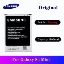 Battery B500AE For Samsung Galaxy S4 Mini I9190 I9192 I9195 I9198 Phone Original Replacement Bateria AKKU 1900mAh