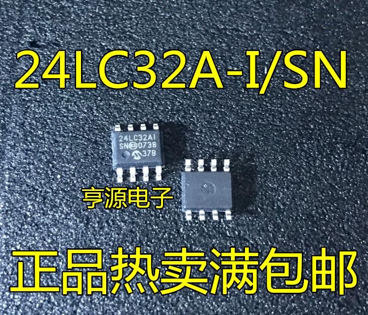 10 шт. 24LC32AI/SN 24LC32AI 24LC32A 24LC32A-I/SNSOP8