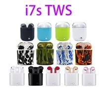 Multi-farbe i7s TWS Wireless Bluetooth Kopfhörer Stereo In-Ear-ohrhörer Mit Lade Box Für iphone Android Xiaomi huwei telefon