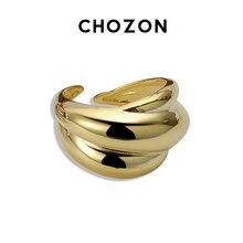 Overdreven 925 Sterling Zilveren Ring Vrouwelijke Wind Eenvoudige Gladde Opening 18 K Gold Japan Netto Rode Wijsvinger Ring minimalistische
