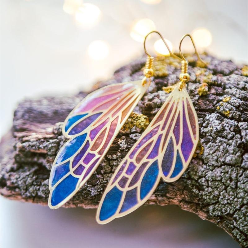 AliExpress - Fairy Wing Fantasy Earrings Statement Dangle Earrings for Women Female Wedding Party Butterfly Earrings Bohemia Jewelry Gifts