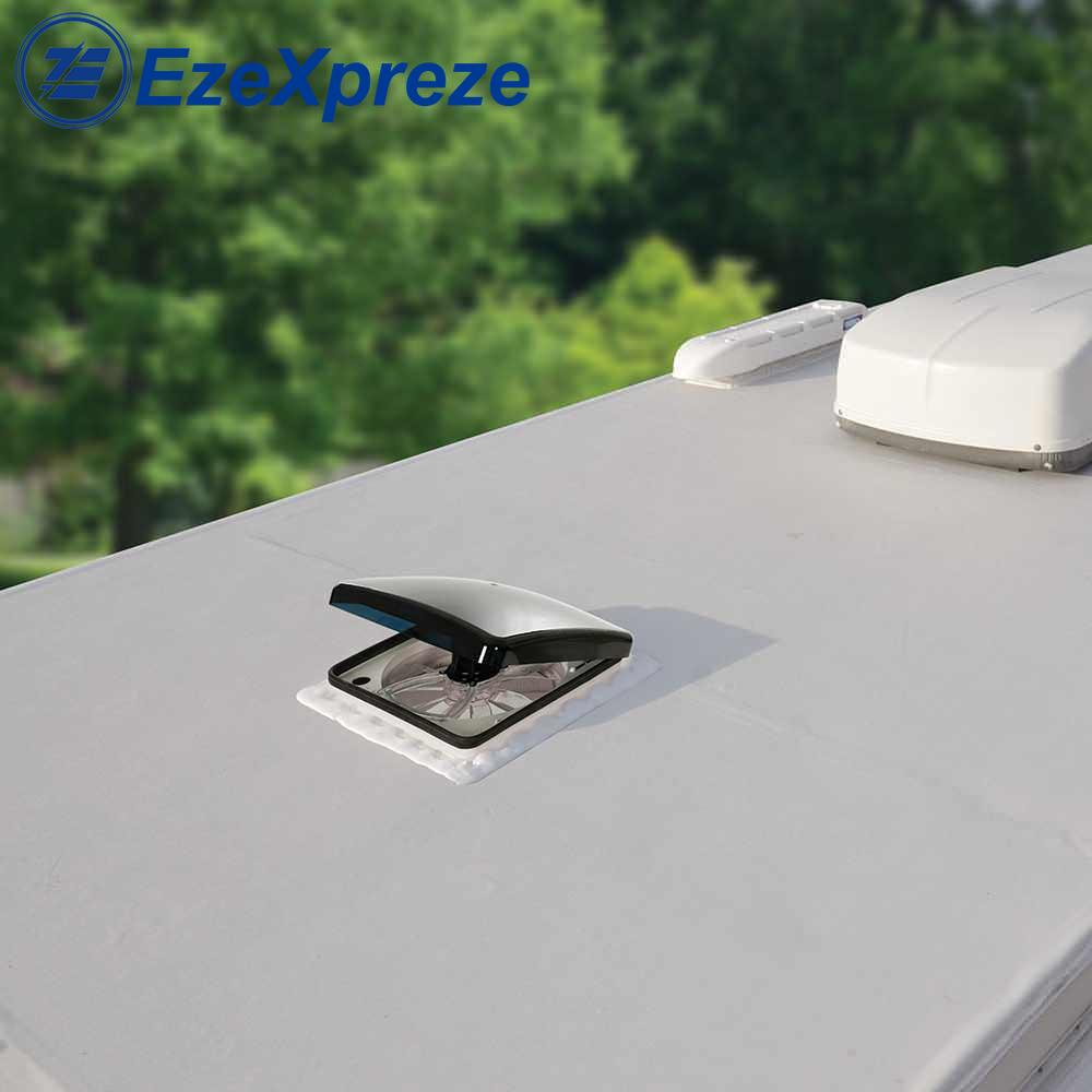 14' 420mm DC 12V Manual Control 3 Speeds RV Roof Vent Caravan Skylight RV AIR Fan 0100495 Motorhomes Camper Window Accessories enlarge