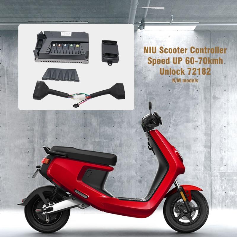 Ню контроллер скутера программируемый Direct-on разблокировать 72182 Скорость до 60 км/ч 70 км/ч мотор драйвер для N1S Ник MQi модель