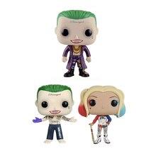Jouets de figurine en vinyle Harley Quinn & Joker 10cm