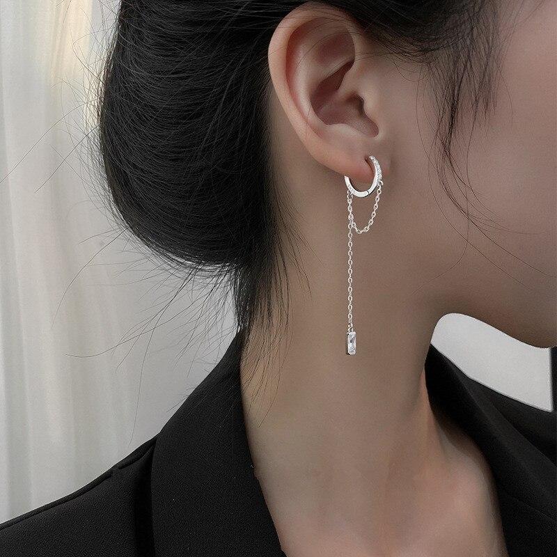 1-шт-925-стерлингового-серебра-серьги-украшенные-кристаллами-с-висящими-кисточками-с-изображением-Луны-и-звезд-крест-в-Корейском-стиле-сер