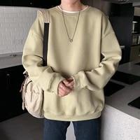 hoodies sweatshirts men streetwear solid pullover sweatshirt hoodies men new 2021 spring autumn sweatshirt men