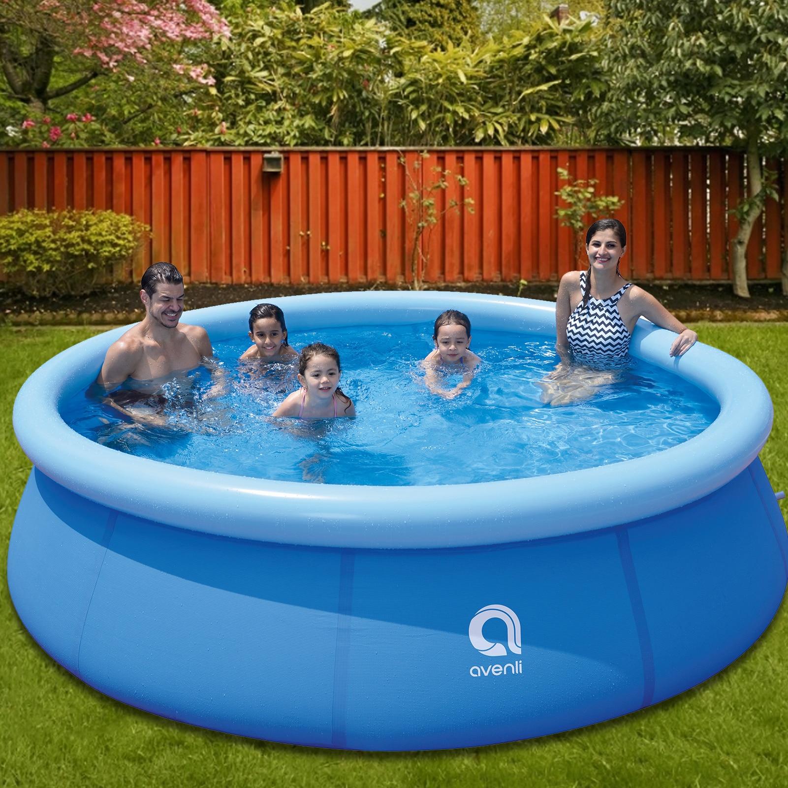 Große Familie Pool Aufblasbaren Pool für Erwachsene Steigerung Verdickt kinder Spielen Pool Klapp Fisch Pools