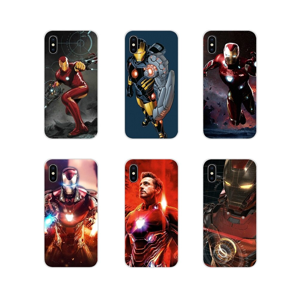 Accesorios fundas de teléfono para Oneplus 3T 5T 6T Nokia 2 3 5 6 8 9 230 3310, 2,1, 3,1, 5,1, 7 Plus 2017 2018 Super héroe hombre de hierro