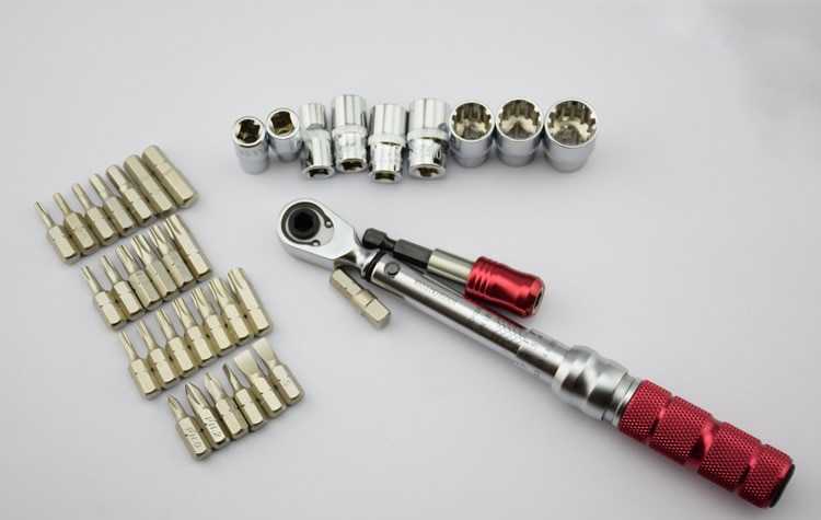 38pcs Industrial application mini 1-10NM torque wrench for combination wrench set enlarge