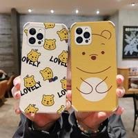 cute cartoon pattern case iphone 12 pro max mini 11 pro max x xs xr xsmax se2020 8 8plus 7 7plus 6 6s plus lambskin cover