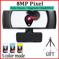 3 color mode webcam 4k video autofocus usb conferentie pc laptop desktop kantoor vergadering 1080p web cam with microphone