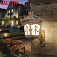 dlmh outdoor wall%c2%a0led%c2%a0light solar patio modern sconce led waterproof lighting for porch balcony courtyard villa