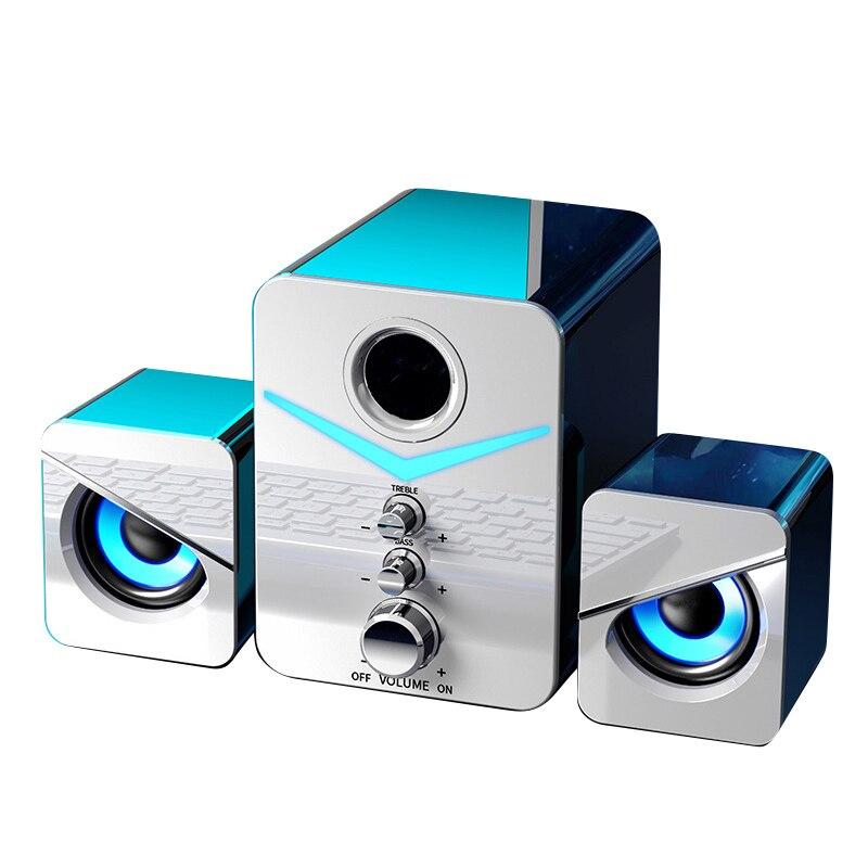 Sistema de cine en casa para PC, Subwoofer de graves, Bluetooth, compatible...