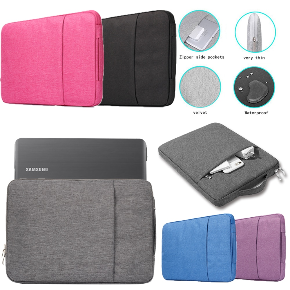Laptop Case Sleeve Notebook Bag for Samsung Chromebook 2/3/Pro/Notebook 7 Spin/9/9 Pen/9 Pro/9 Spin/Series 5/7 Business Handbag