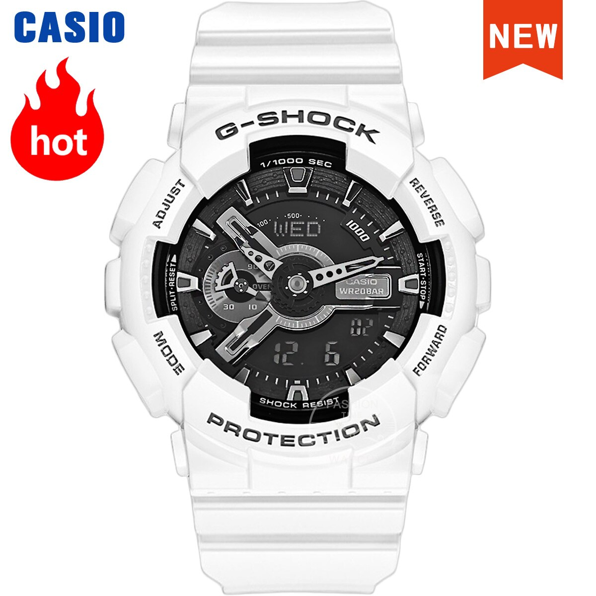 Reloj Casio para hombre g shock top de lujo resistente al agua, reloj deportivo de cuarzo LED digital militar, reloj masculino