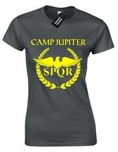 Camp Jupiter Ladies T-Shirt Cool Percy Design Jackson Spqr Halfblood Gods Retro Cool Casual Pride T Shirt Men Unisex New