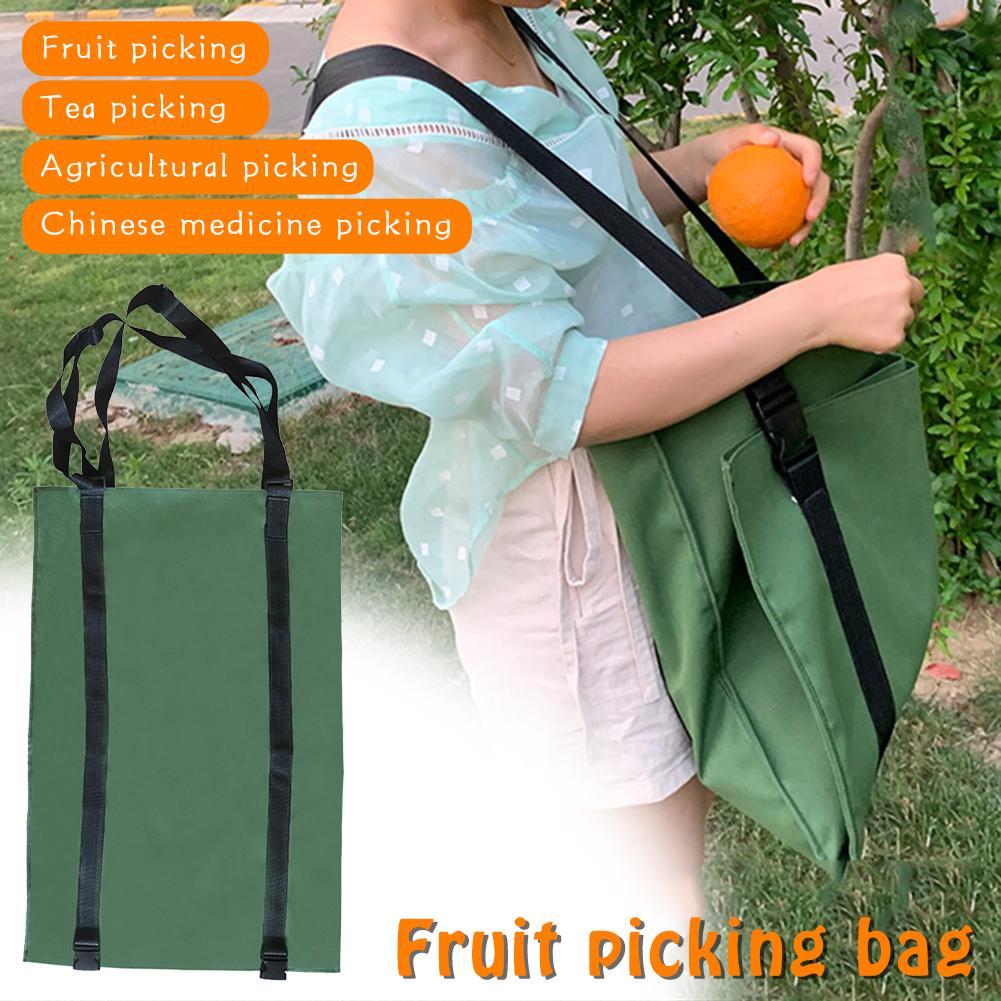 Bolsa de lona para recoger frutas y frutas