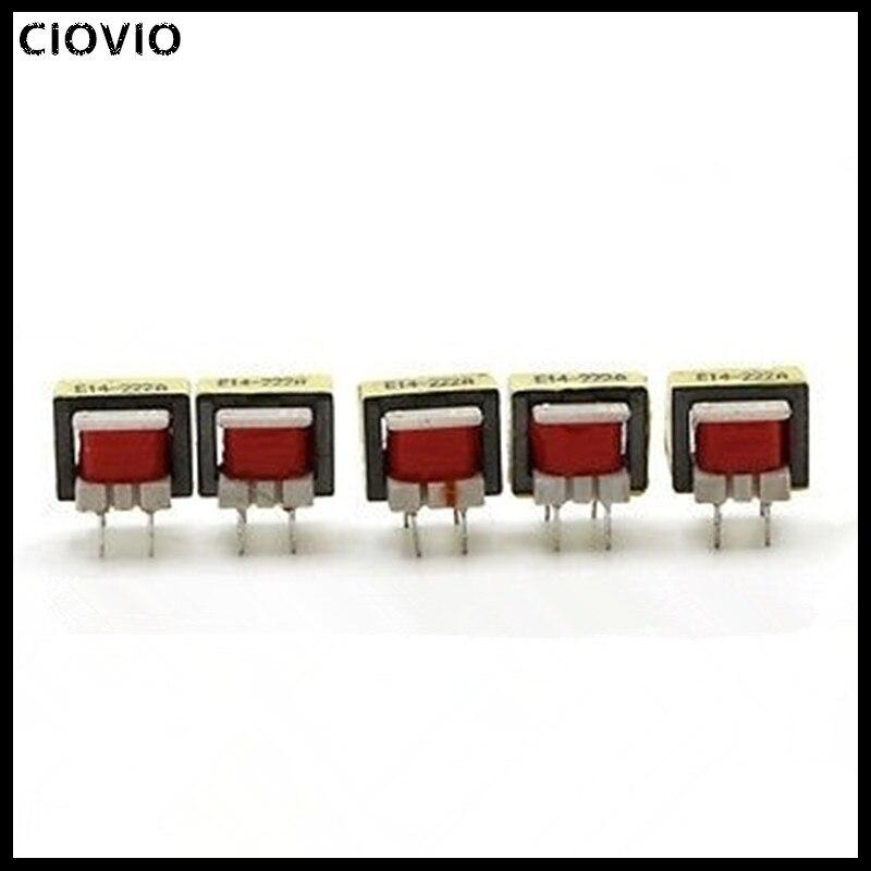 CIOVIO, 10 Uds., 1300: 8, Transformador de Audio Ohm EE14, Transformador POS