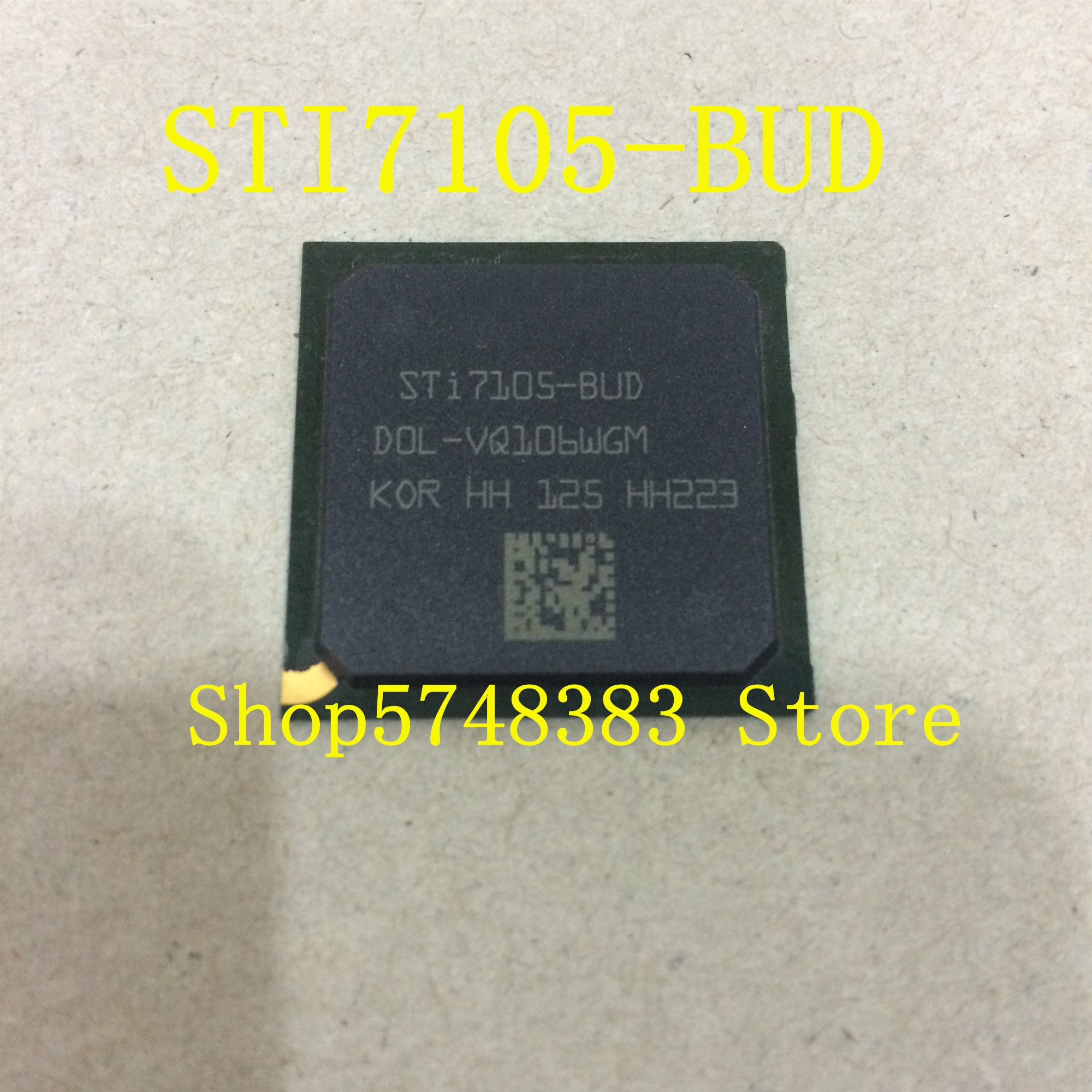1PCS/LOT new original  STI7105 STI7105-BUD STI7105BUD BGA Optical network set-top box chip