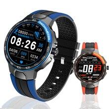 E15 Smart Watch Men Women Full Touch Waterproof Heart Rate Blood Pressure Monitor Weather Sports Fit