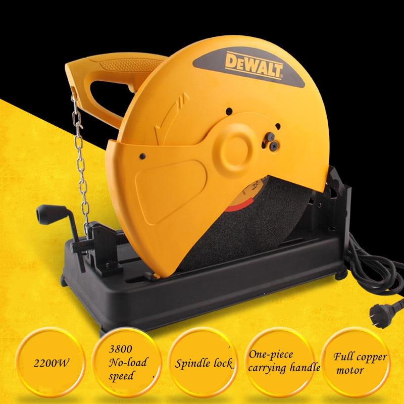 Profile Cutting Machine 355MM Cutting Saw Table Type Saw D28720 Steel Machine 350 Functions Cutting Machine
