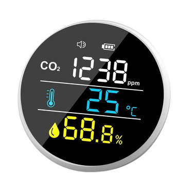 Smart Indoor Air Quality Monitoring Digital Temperature And Humidity Meter Temperature And Humidity Meter