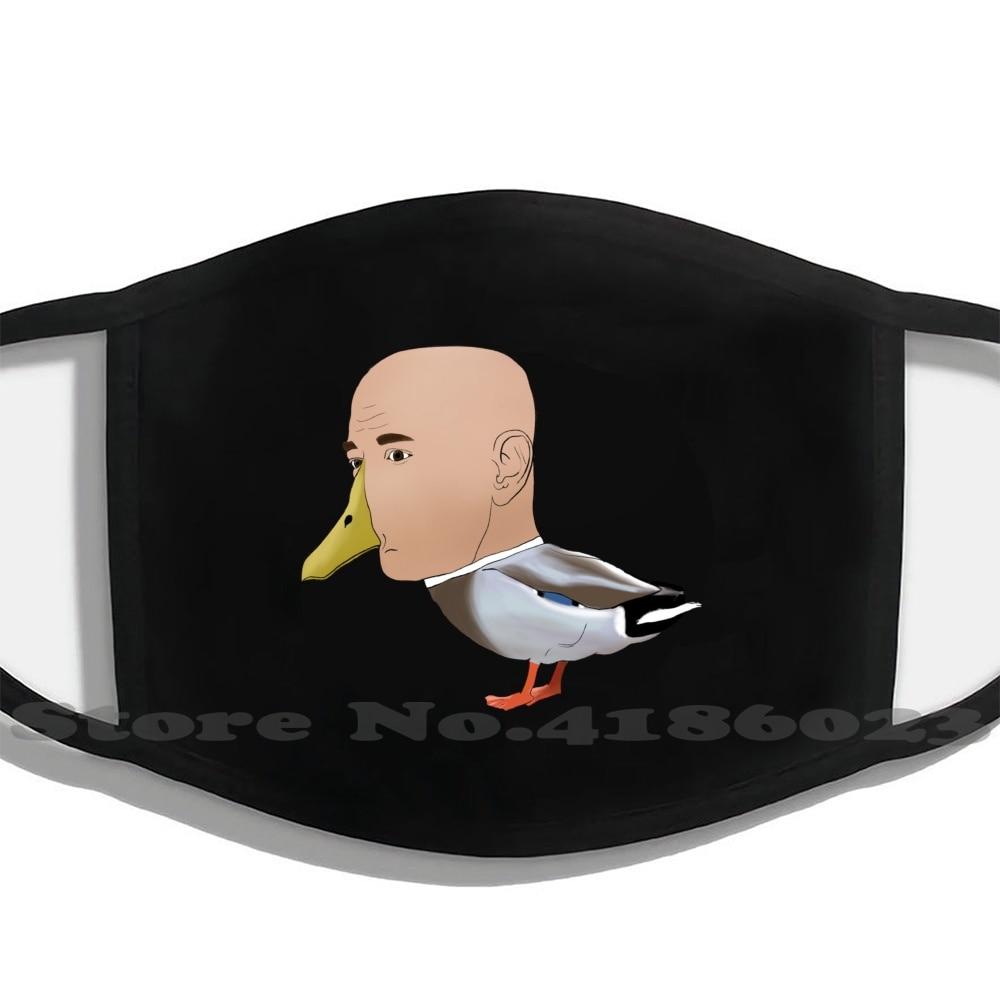 Jeff Bezos Duck Diy Adult Kids Mouth Mask Face Masks Jeff Bezos Jeff Bezos Duck Mallard Amalgamation Beast Creation Meme Mental