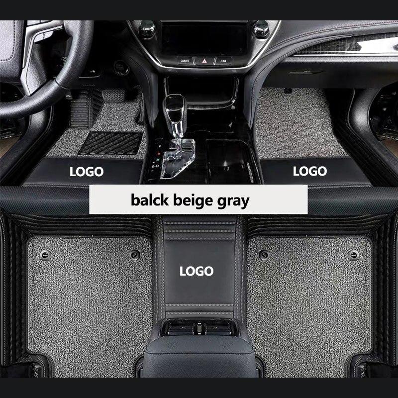Calaisike, LOGO personalizado, alfombrillas para coche para Buick GL6 Excelle Encore null VELITE 5 envision GL8 Verano Park Lacrosse way