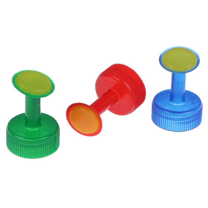 3Pcs 3cm Water Bottle Plants Flower Watering Tools Plastic Sprinkler Nozzle  Home Pot Watering Bottle Nozzle