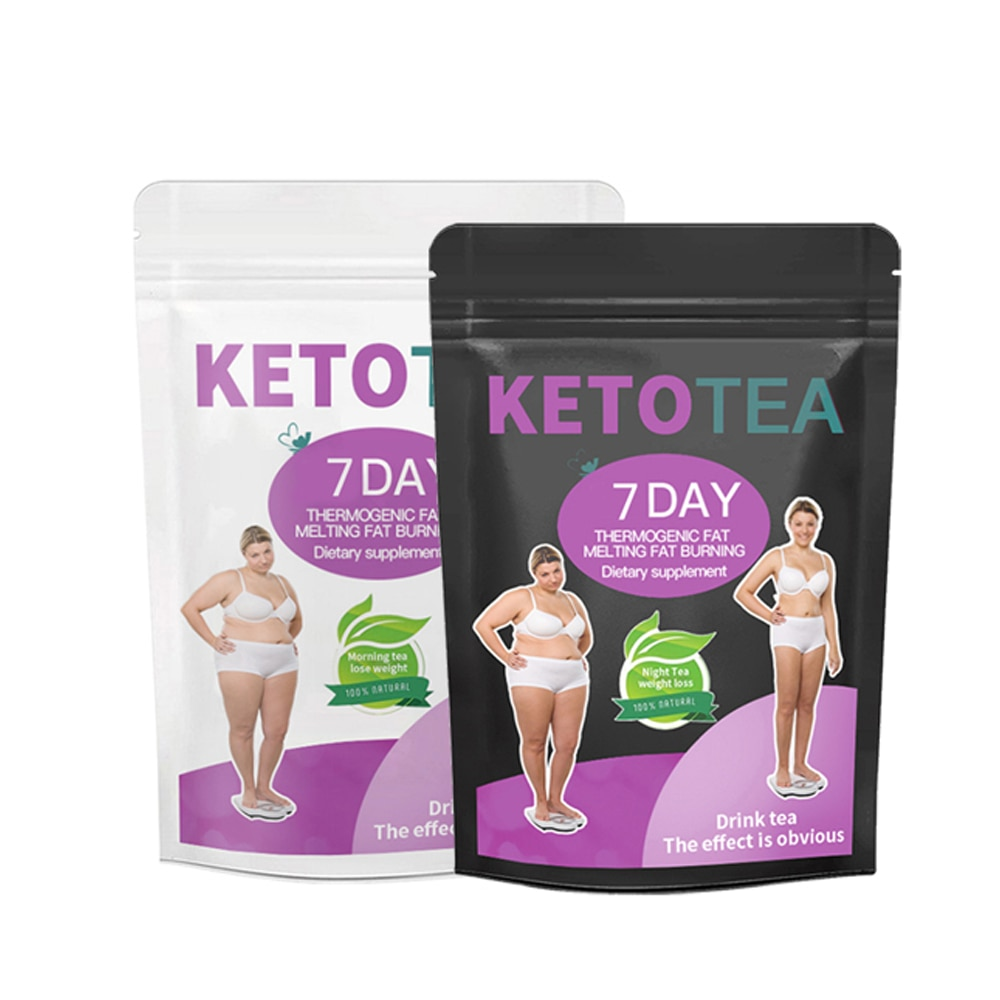 7 Day Keto Tea Set Day and Night Weight Loss Tea Slimming Body Fat Brun Slimming Product Detox Teato