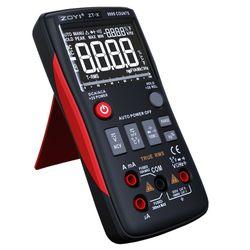 Zoyi ZT-X true-rms multímetro digital botão 9999 contagens A-C/D-C tensão atual q39b