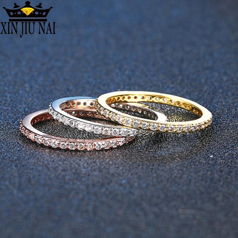 Nuevo anillo explosivo de tres colores, conjunto de joyería europea y americana de tres prendas y gran oferta de una generación