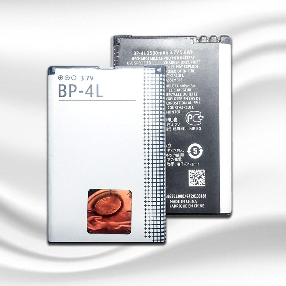 Литий-полимерная батарея 1500mAh BP-4L для Nokia E52 E55 E63 E71 E72 E73 N810 N97 E90 E95 6790 6760 6650 BP 4L