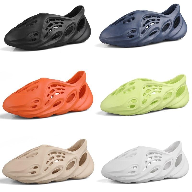 Summer Casual Shoes 44 Men Sandals Soft Mesh Couple Beach Slippers Men Swimming Sandal Foam Runners Comfort Flip-flops Slipper