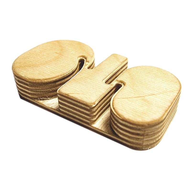 4 in 1 Bracelet Bending Jig Tool Includes Four Sizes Handmade Wooden Tool for Bending Metal Stamping Blank Bracelets