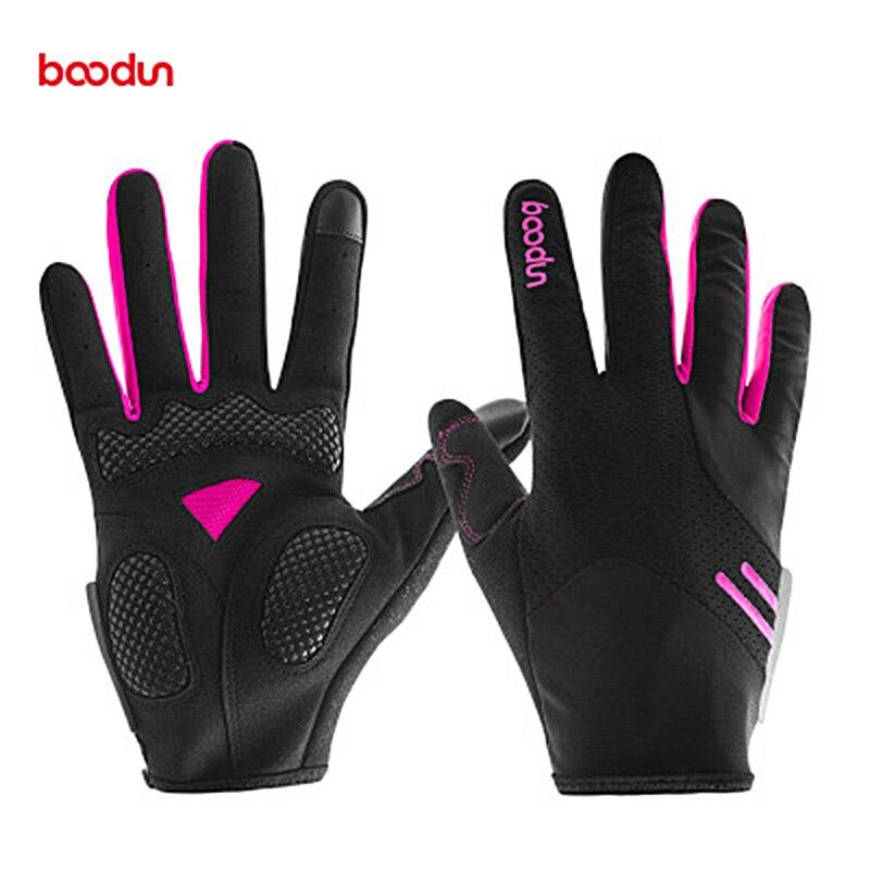 Boodun Motorhandschoenen Lange Vinger Touch Screen Warm Rijden Handschoen Outdoor Sport Fiets Motorfiets Auto-Styling Antislip handschoenen